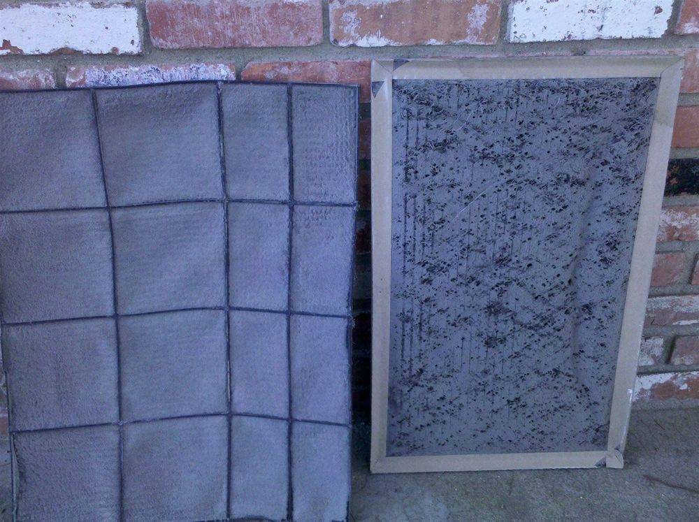 Air filters that are dirty make your hvac unit run ineffeceintly