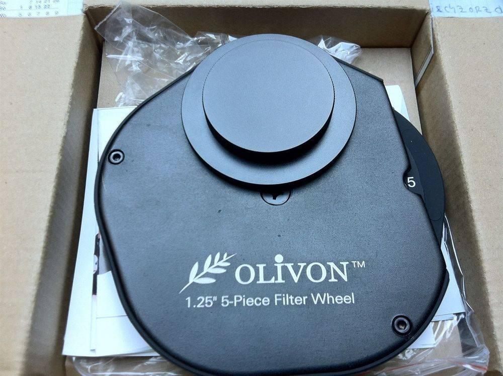 """Olivion"" Filterrad 1,25"" mit 5 Farbfiltern"