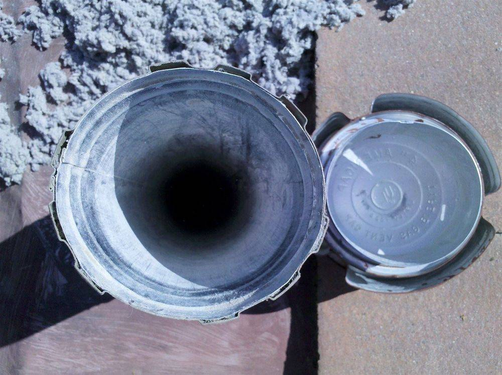 Dryer vent after cleaning