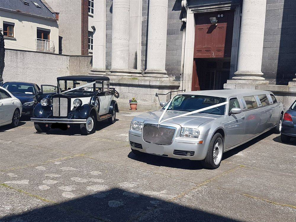 silver limousine hire