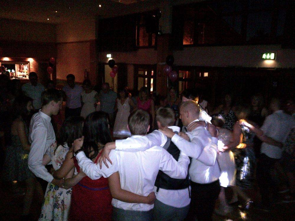 Dance floor at a Wedding - Southport DJ - Wedding DJ