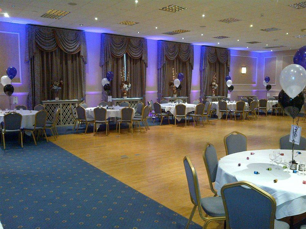 School Leavers Ball DJ - Uplighting set up at Royal Clifton, Southport, Merseyside