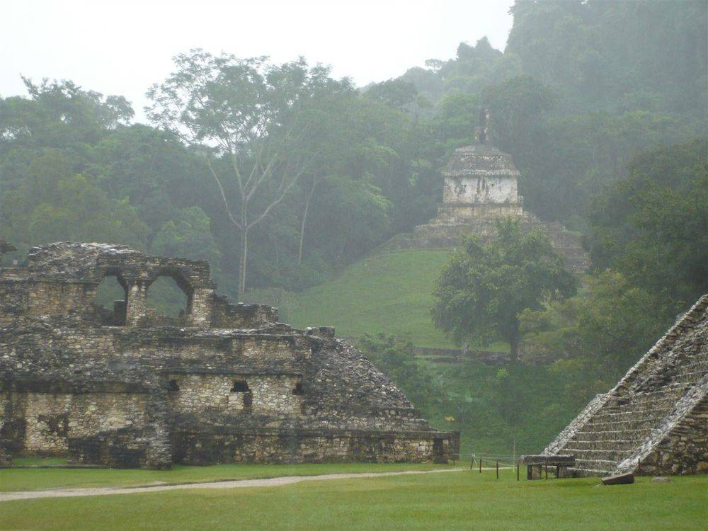 Temple of the Inscriptions, Palenque Maya Ruins 11-11-11