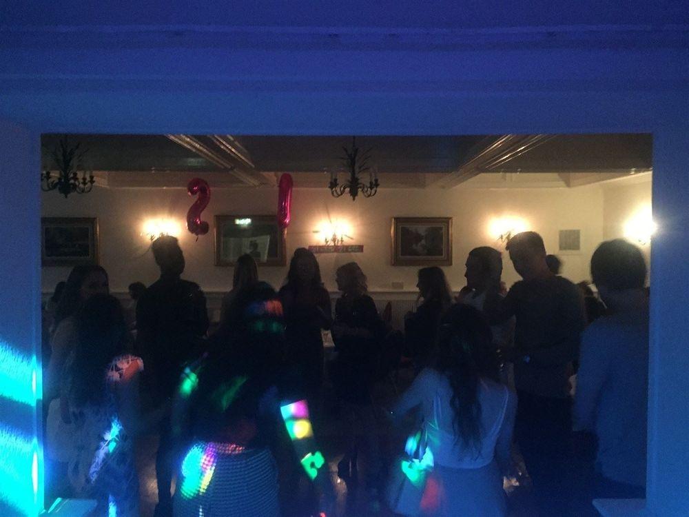 Dance floor at Last Drop Village Hotel, Bolton for a 21st Birthday - Southport DJ - Wedding DJ