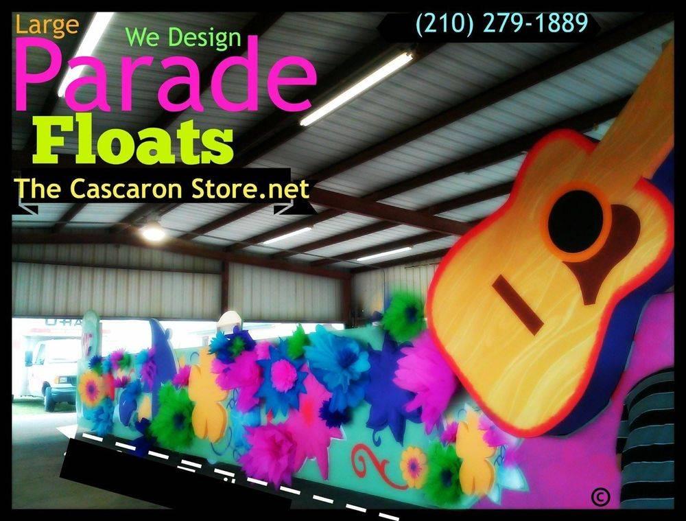 fiesta parade float designer