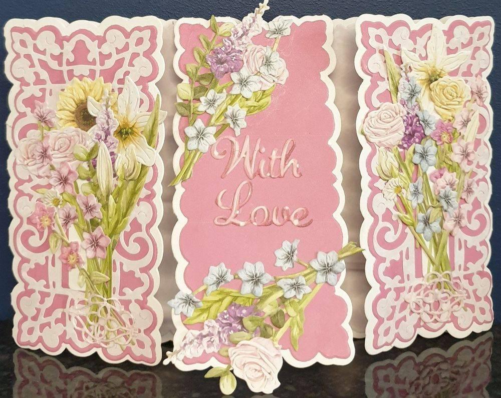 Bouquet Collection Triple Flowers