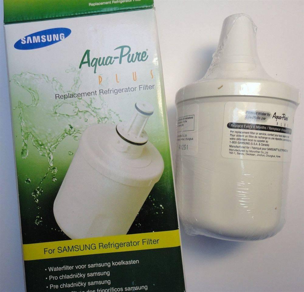 Samsung - Aqua-Pure Plus - DA29-00003F - HAFIN1/EXP - DA97-06317A-B - replacement refrigerator fridge ice water filter cartridge - sold & stocked at www.aaafilterfast.com
