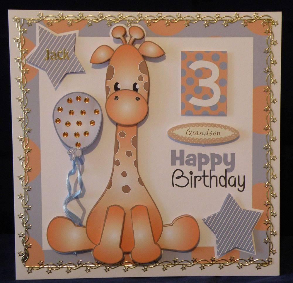 Giraffe, Blue Birthday