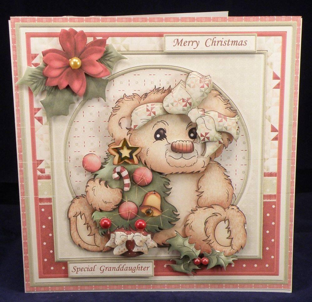 Christmas Teddy & Tree
