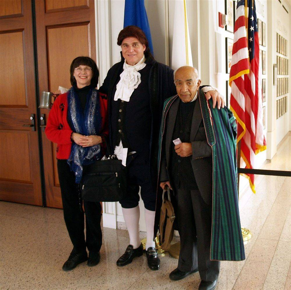 Dr. MS Omar, Int'l Secretary; T. Jefferson, USA...& JELS
