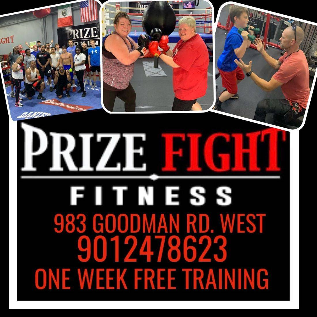 prize fight fitness weight training