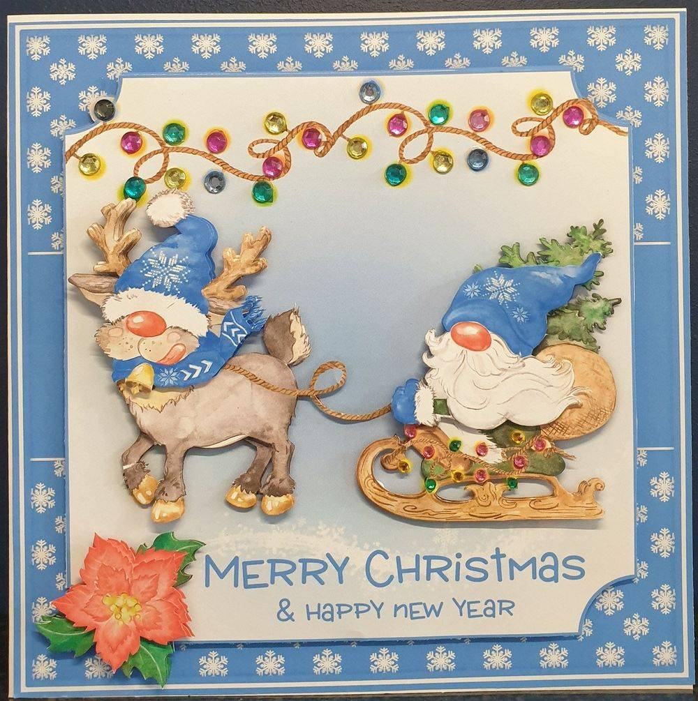 Blue Gnome Christmas