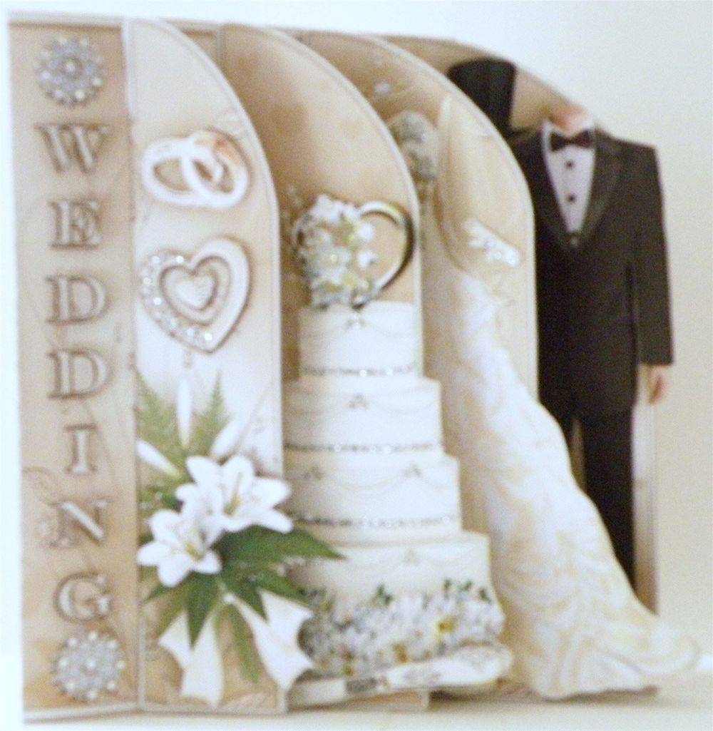 Wedding Day Slotted Card