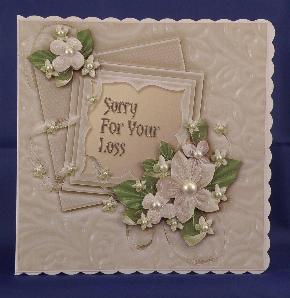Cream Ceramic Floral Sympathy