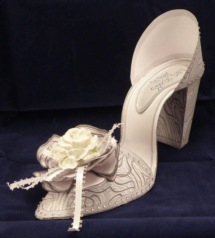 I Love Shoes - Swirly Pearl (3D shoe)