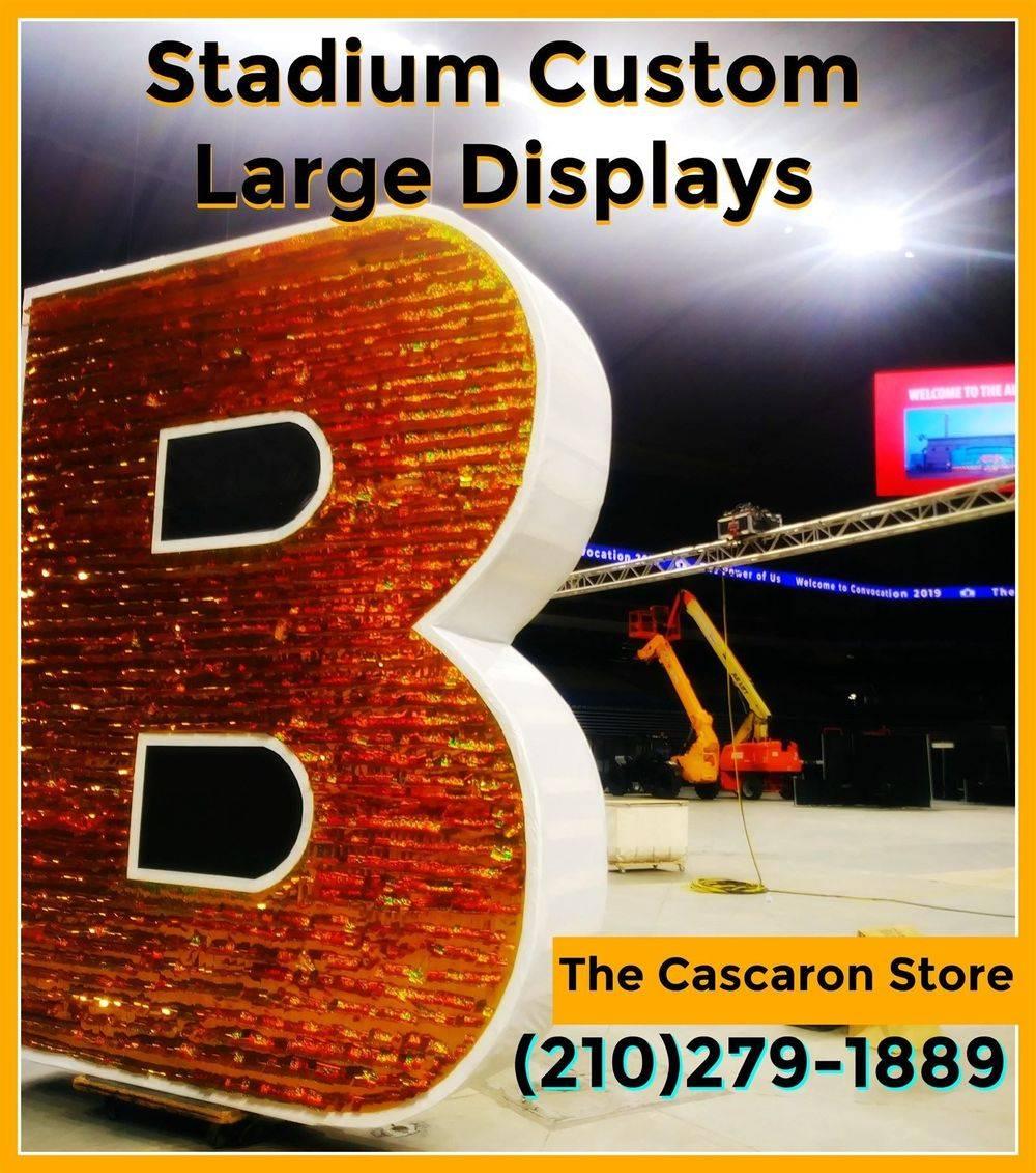 store grand opening custom large displays