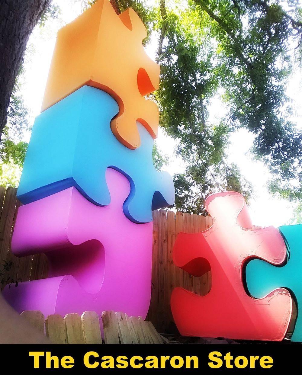 Autism Large Puzzles logo