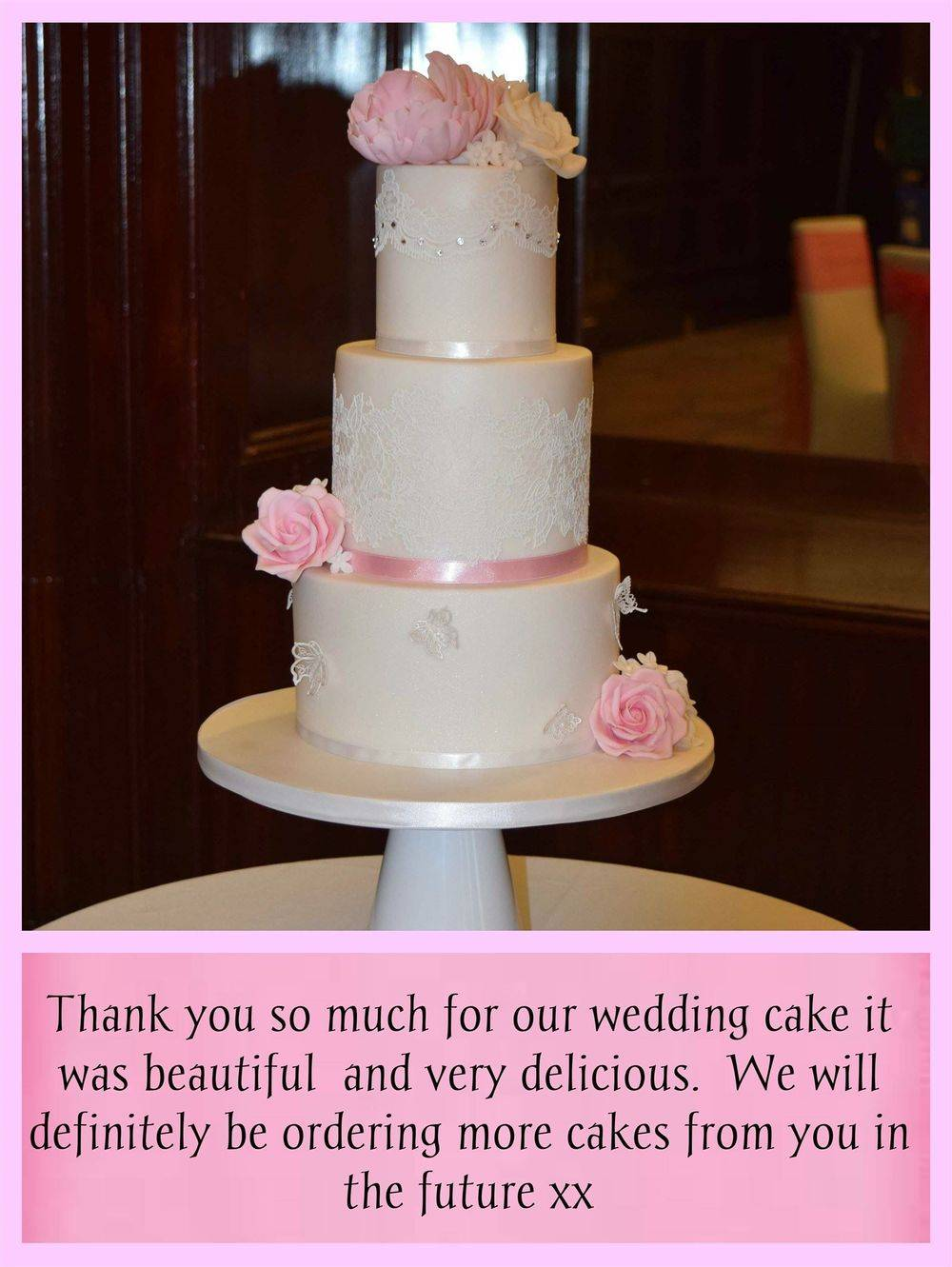 Wedding Cake Review