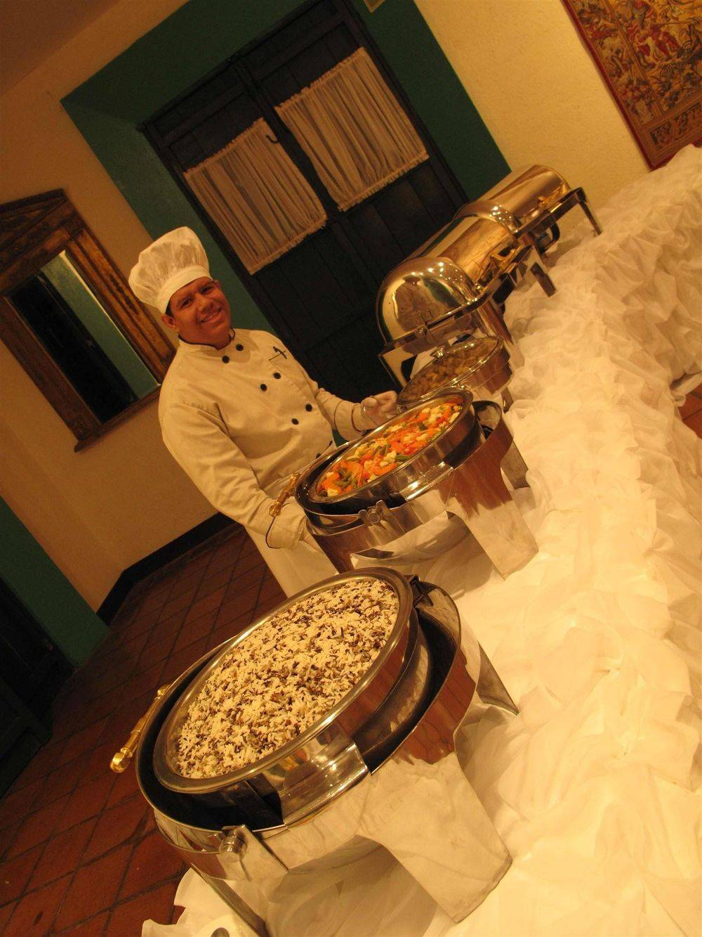 Catering Options for Weddings in Nicaragua - Picture property of www.WeddingsNicaragua.com