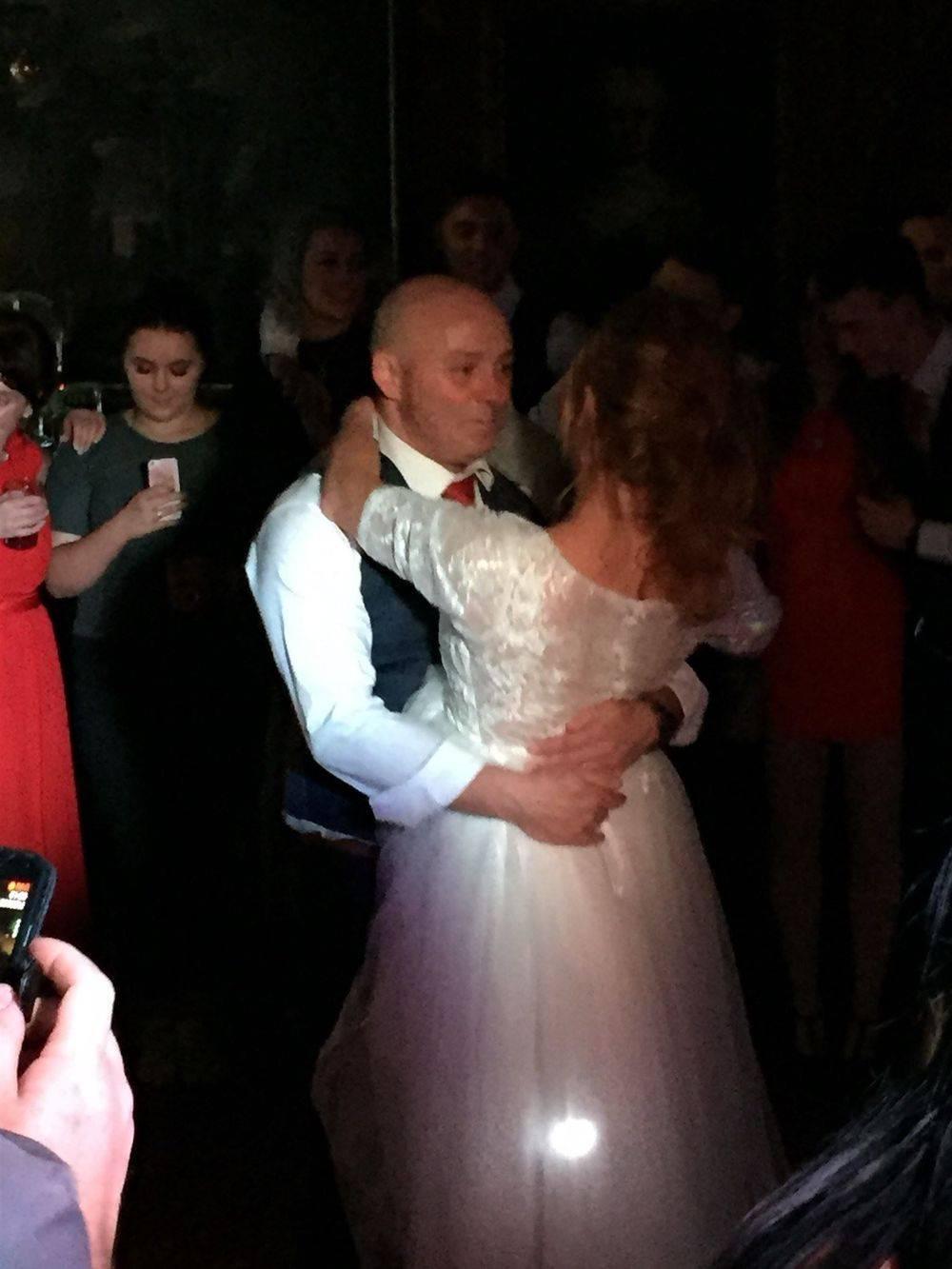 First dance at a Wedding Reception near Windermere.Glynn Tee - Professional DJ - Wedding DJ