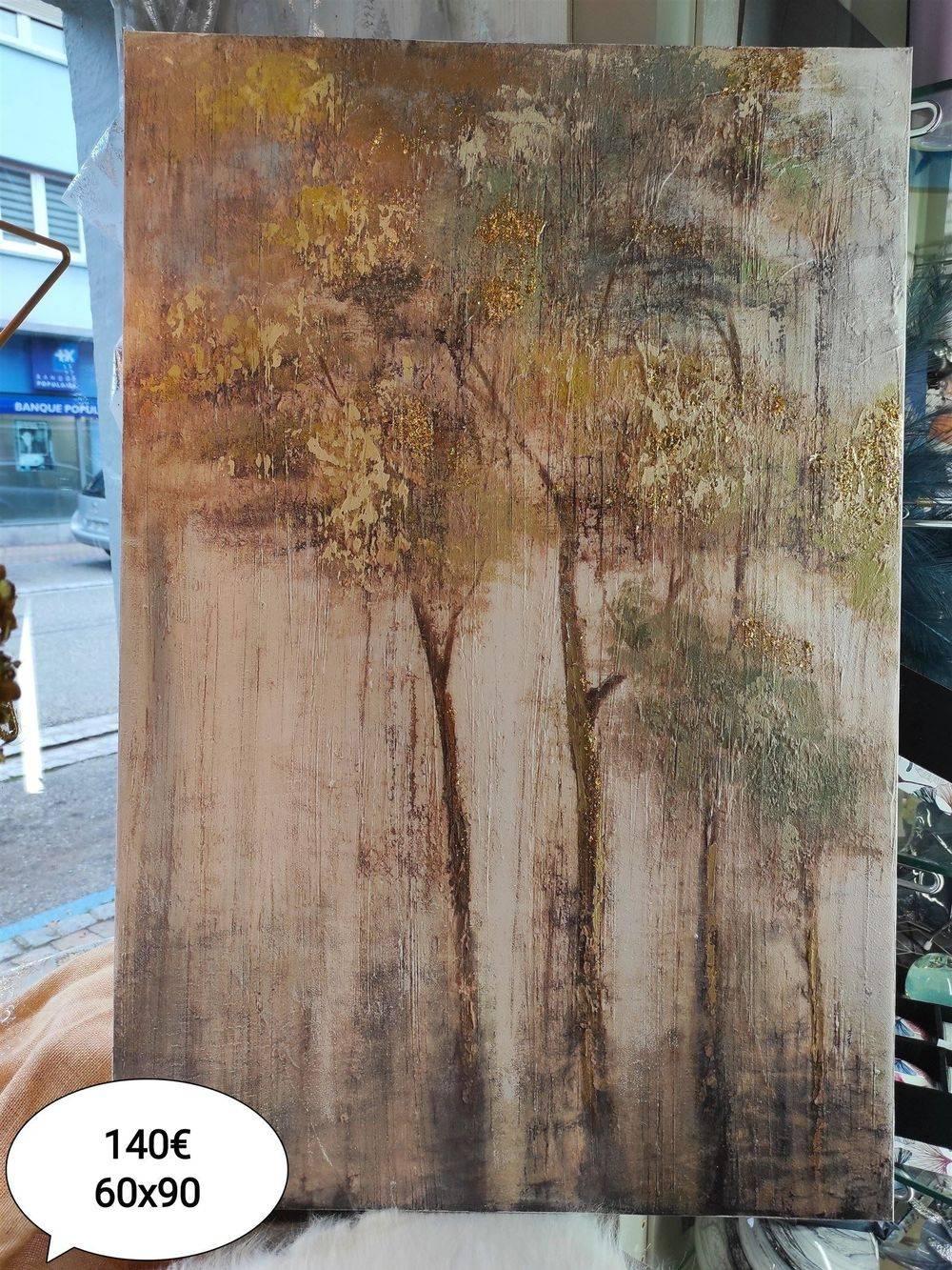 Tableau arbres 60 x 90 cm