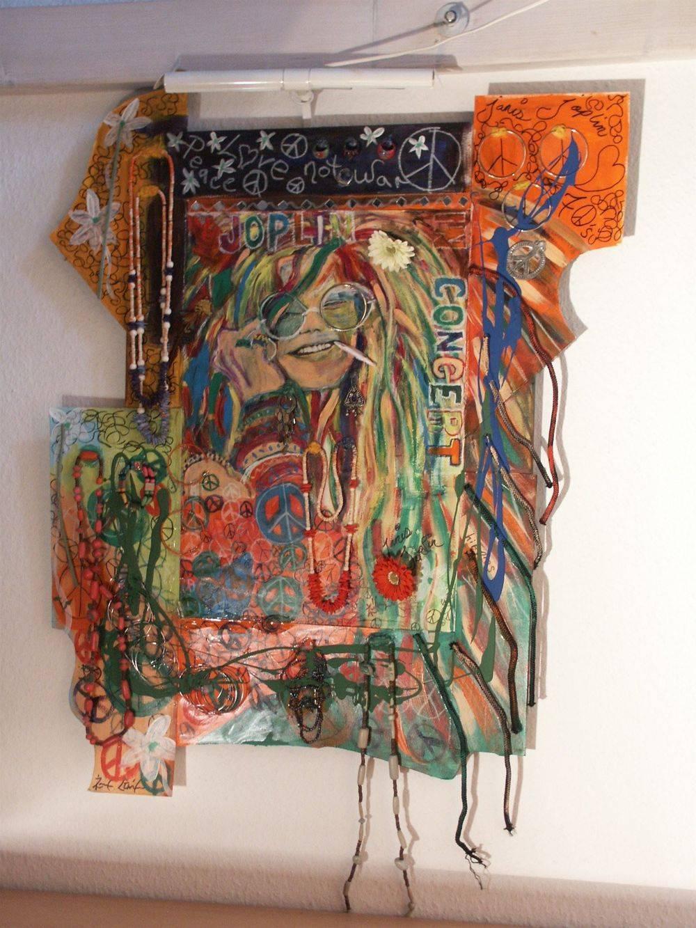 Janis Joplin approx. 70 x 95 cm