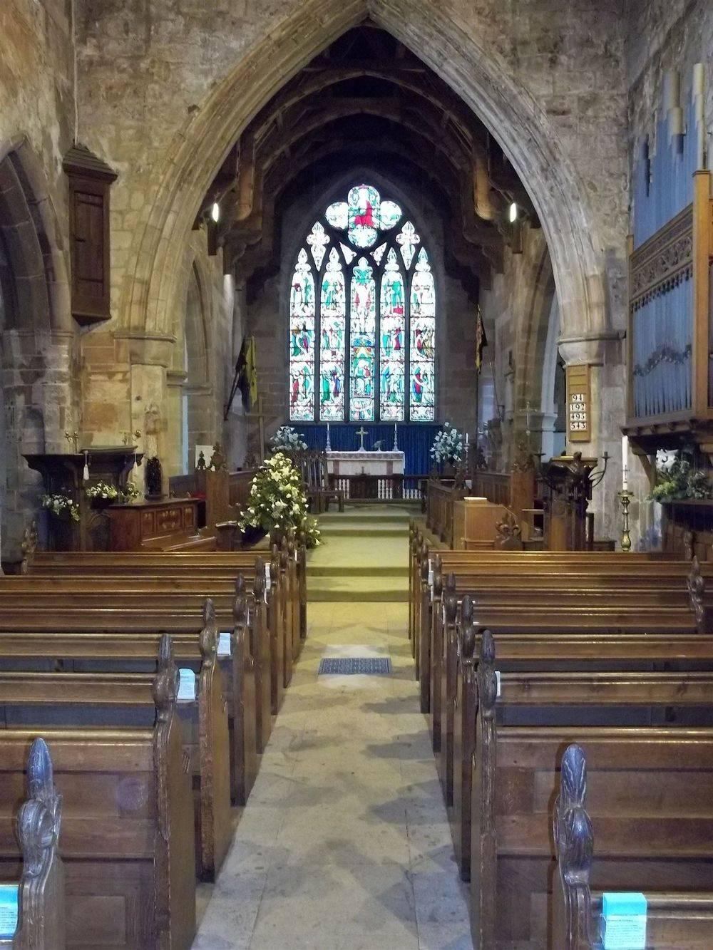 Main Aisle - Claverley Church
