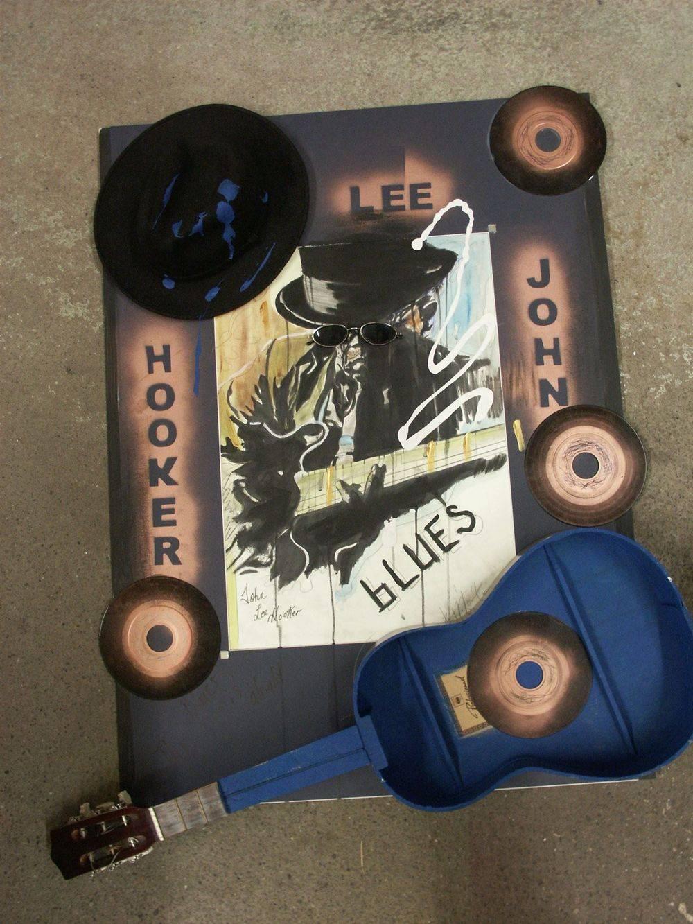 John Lee Hooker 70 x 100 cm