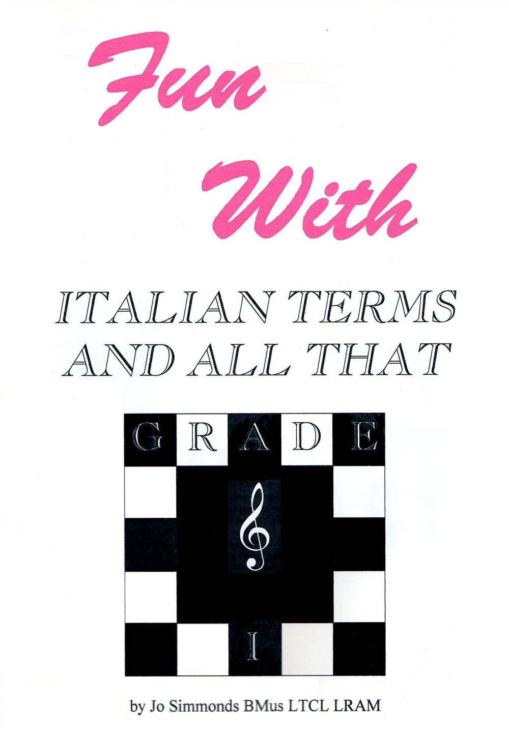 Music theory puzzles, grade 1, Italian terms puzzles and games