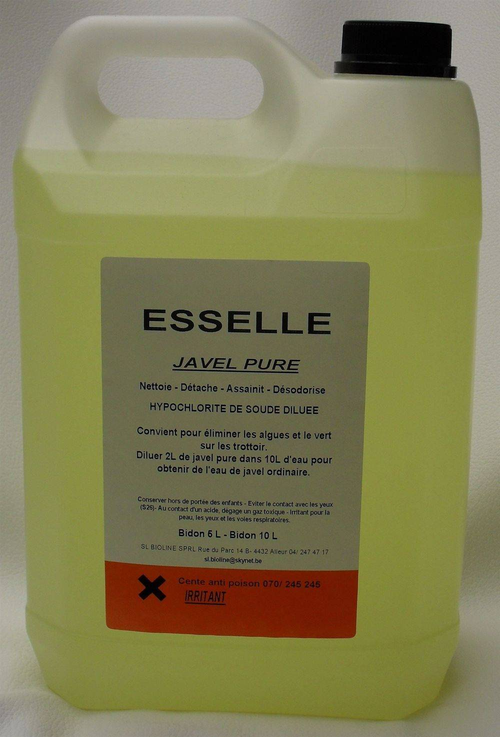 JAVEL PURE 5 litres