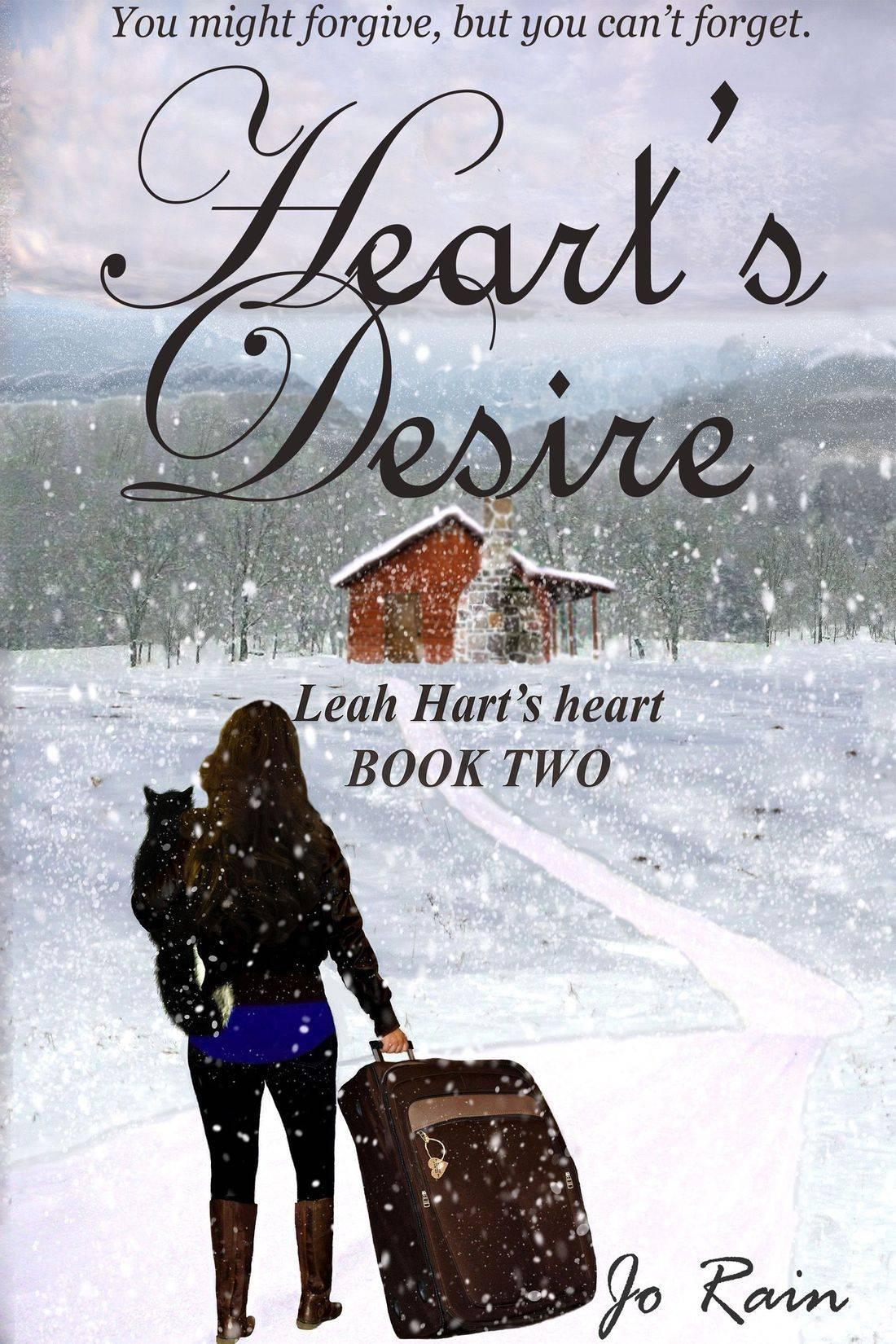 jo rain, leah hart's heart, leah hart series, heart's desire