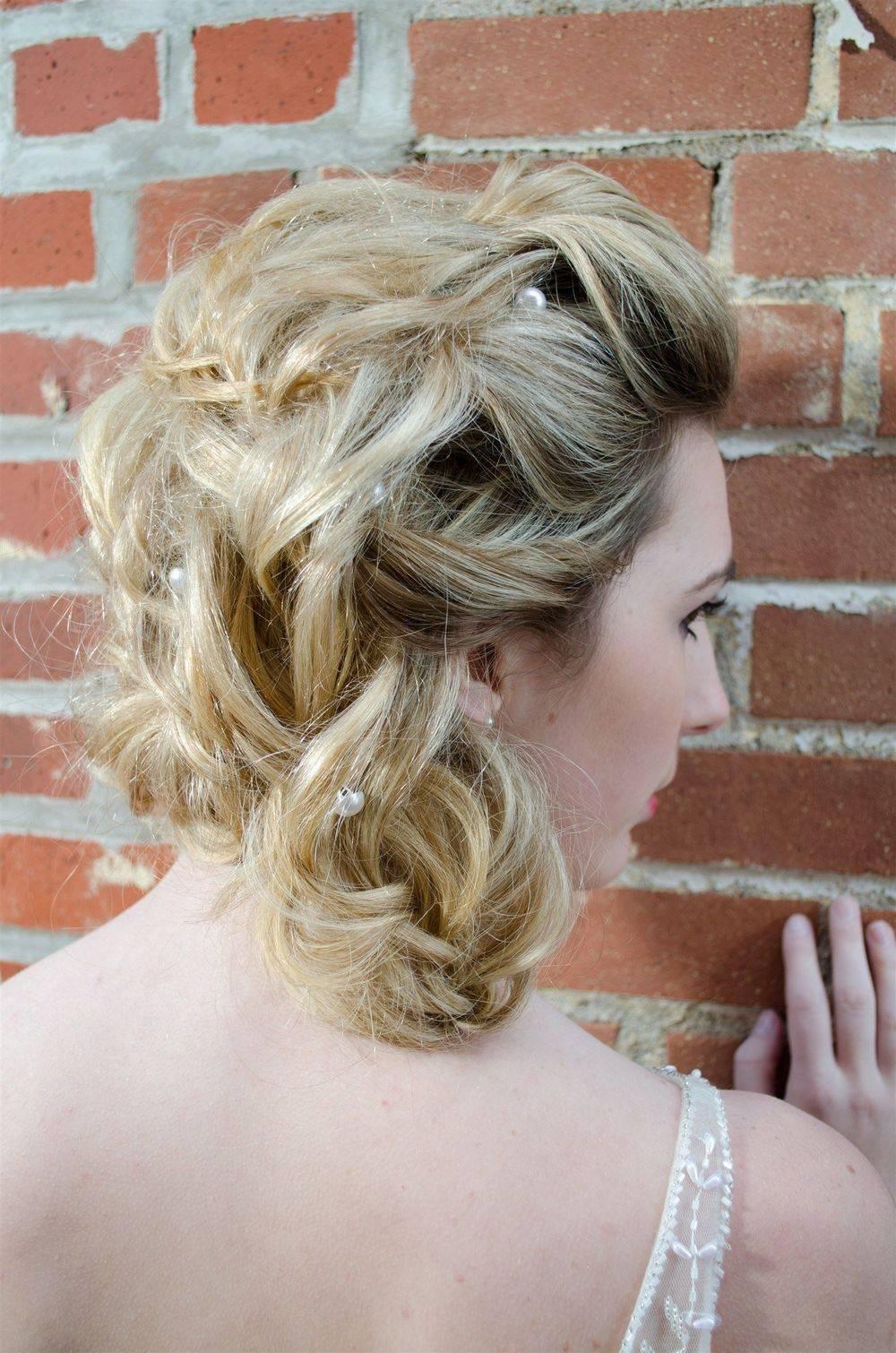 bridal updo at Hair Art Studio & co