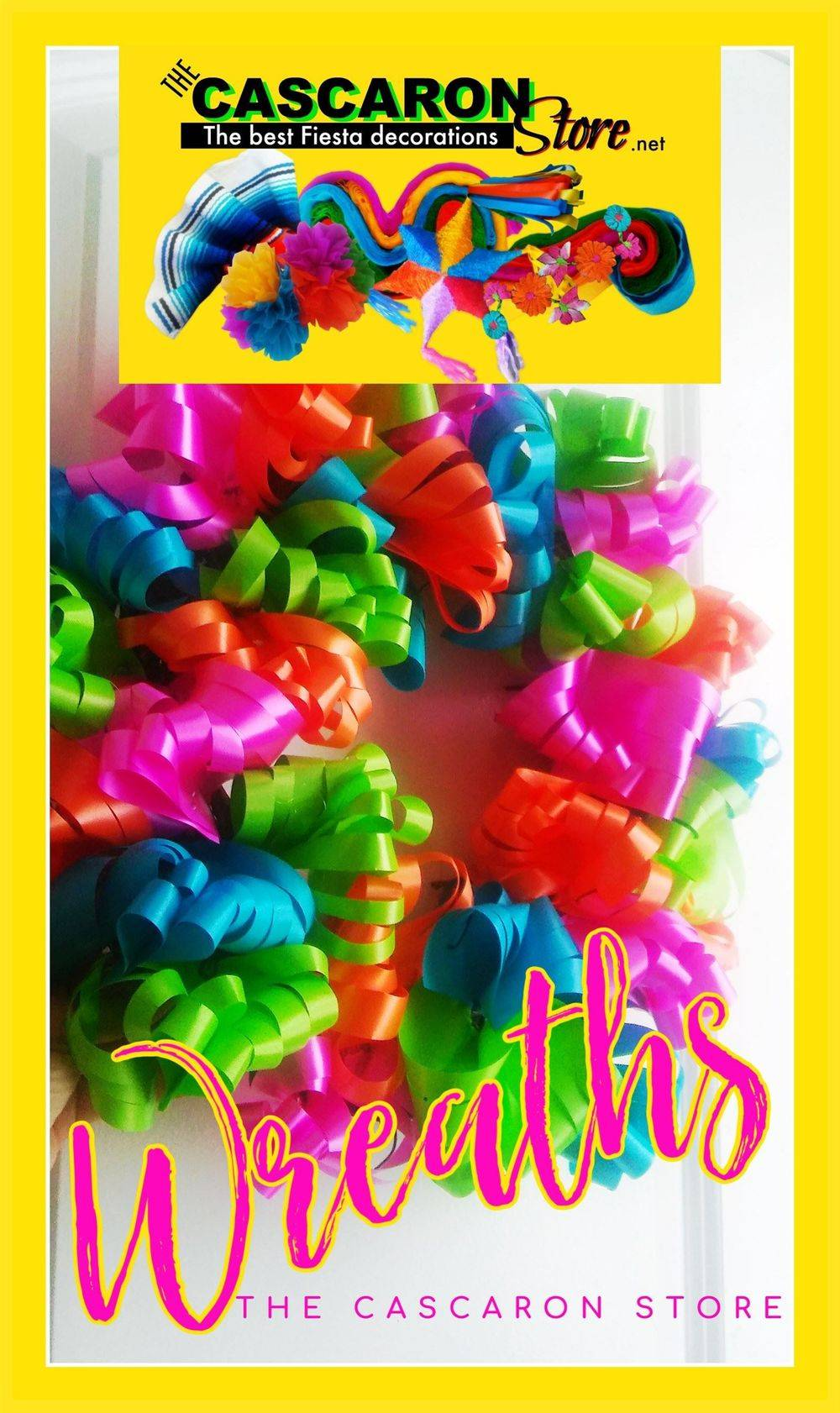 fiesta wreath by MLH