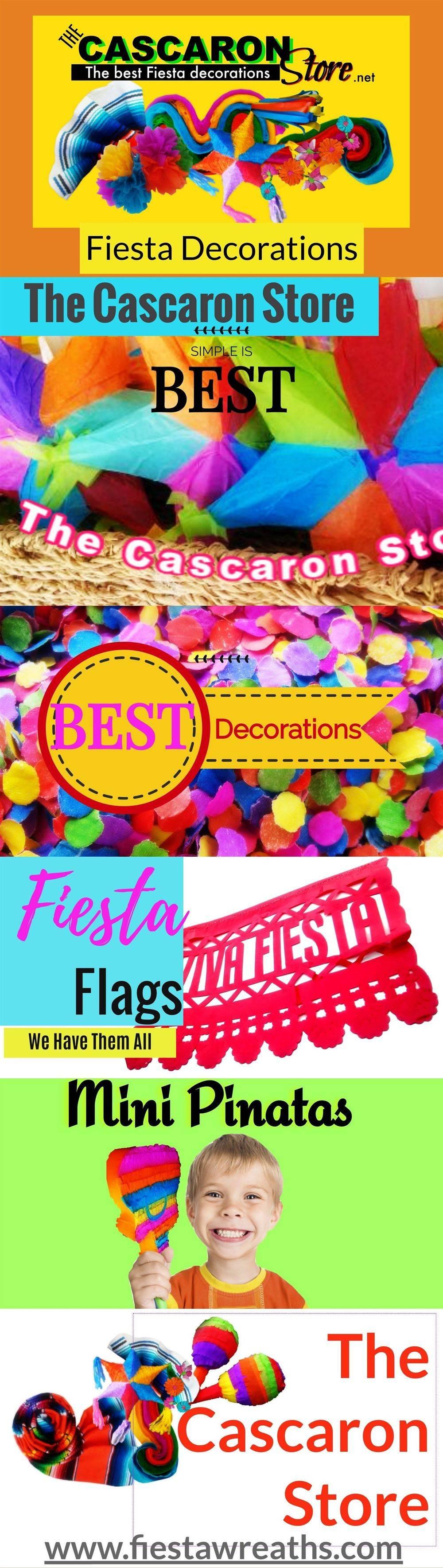 fiesta wreath decorations
