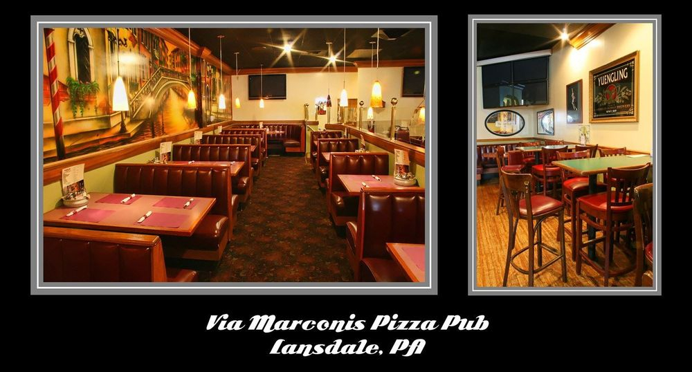 Pizza Pub1 dining area upholstery