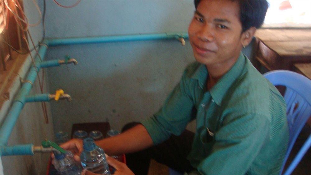 in Cambodia