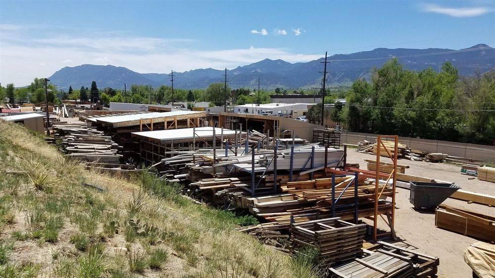 The Yard. Larkspur Building Lumber yard in Colorado Springs, Colorado