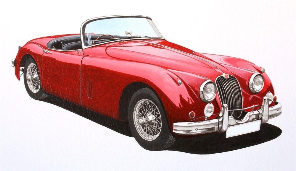 Jaguar XK150 (Acrylic) : Sold