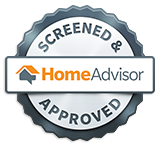 HomeAdvisor Screened and Approved Emblem