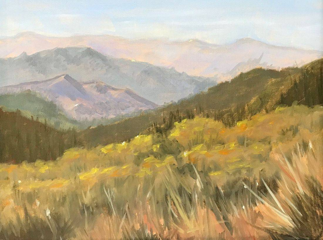 Rocky Mountains, Gunnison, Colorado, Hiking Trails, Western Art