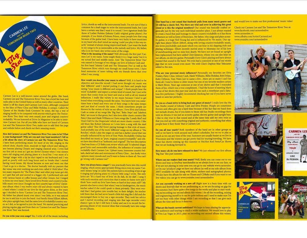 Drive In Magazine The Lost Edition 2012