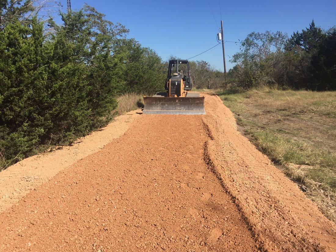 dozer work, road installation, easement road install