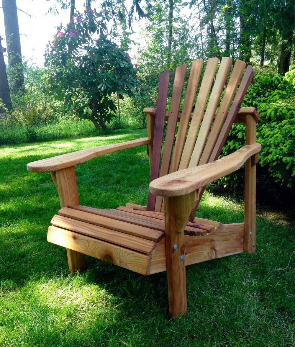 Handcrafted Classic Cedar Adirondack Chair