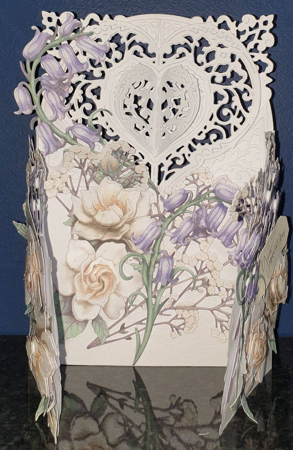 From the Heart - Bluebells & Gardenias - a