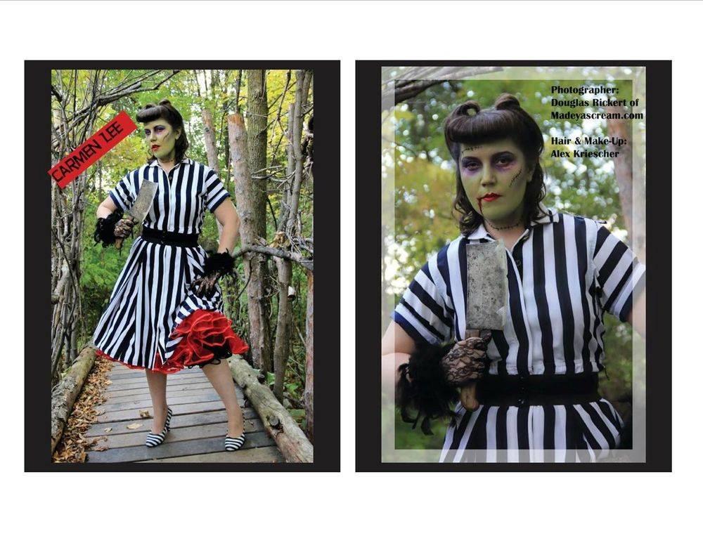 Baba Lous Beauties Magazine Zombie Apocalypse Special Edition