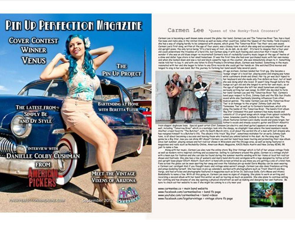 Pinup Perfection Magazine Issue #11 Sept. 2012