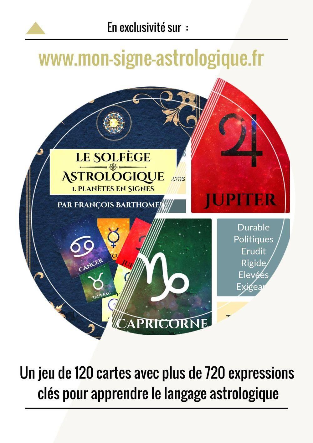 Apprendre l'astrologie le solfege astro