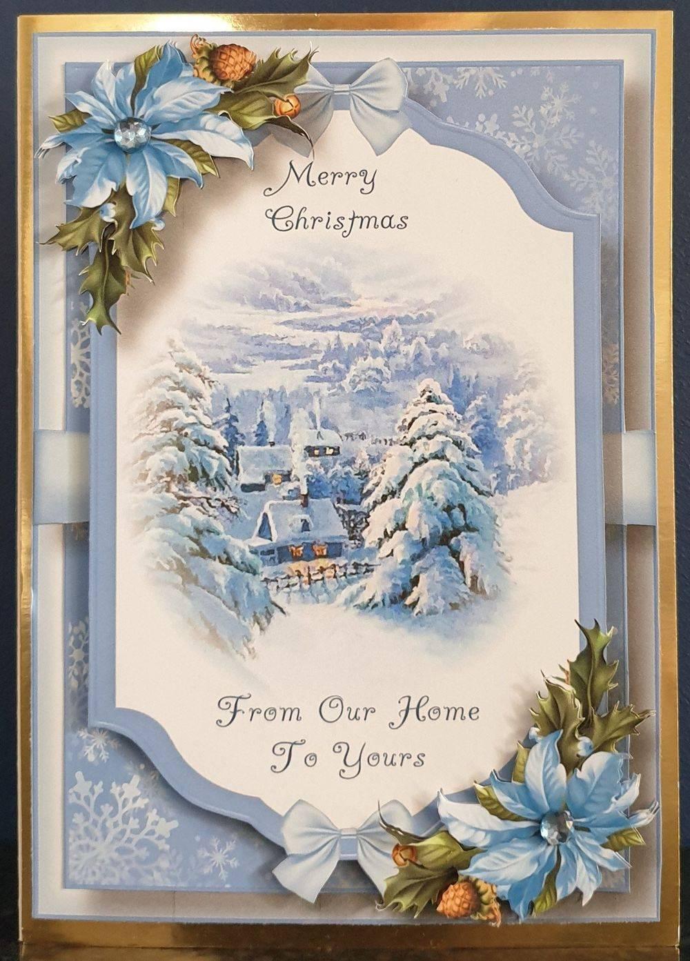 Snowy Village - Beautiful Christmas Scene