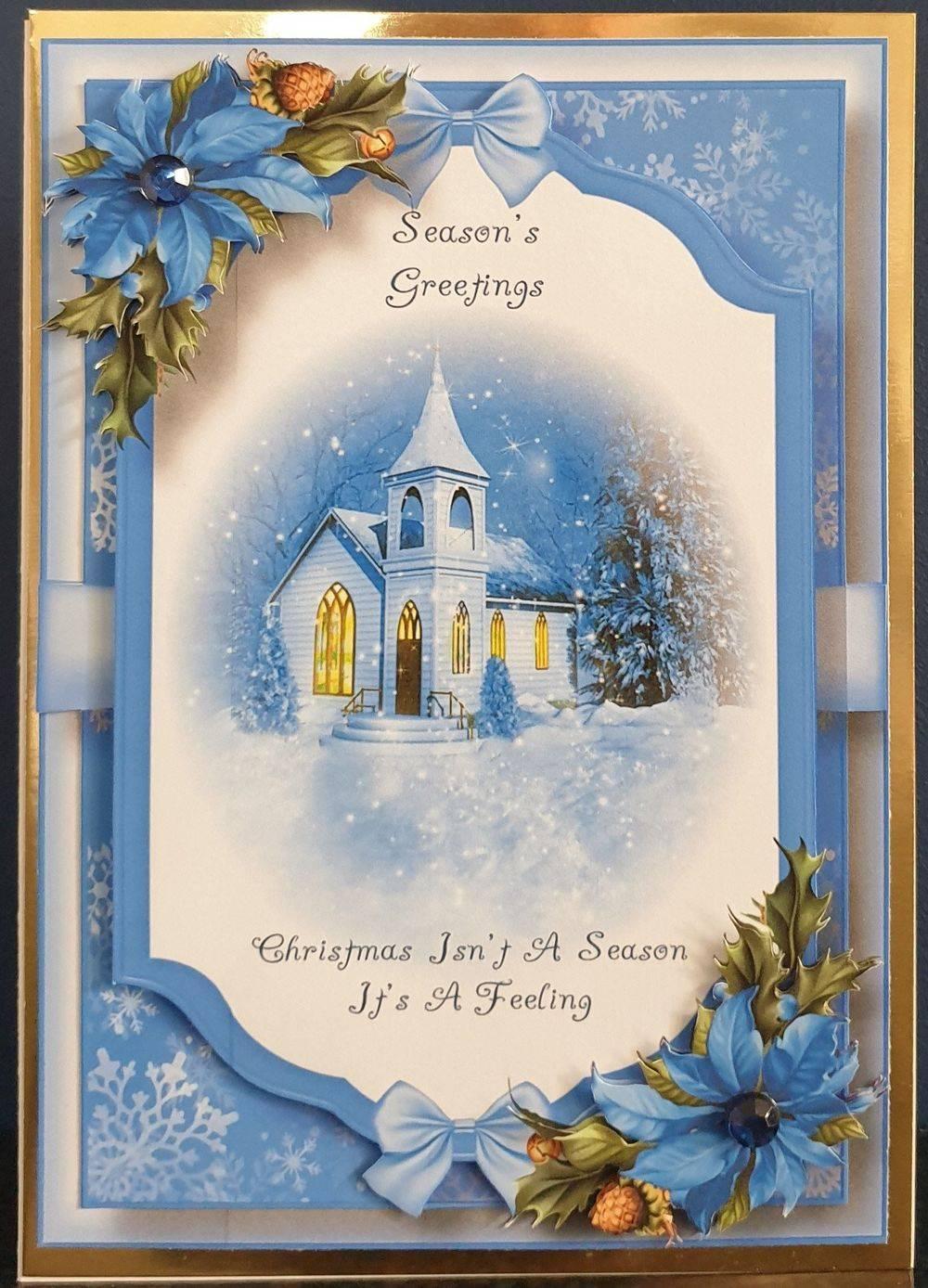 The Church - Beautiful Christmas Scene