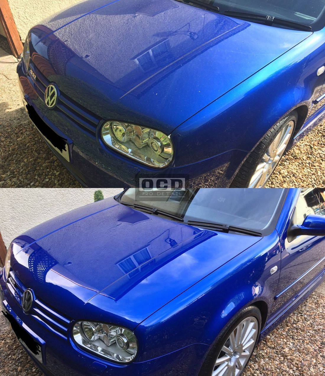 Paint Enhancement before and after shots